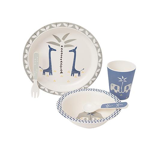 Gifts 2020 : Fresk Bamboo Tableware Set Giraffe
