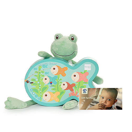 Gifts 2020 : Peluche Frog & Classic Fishing Game