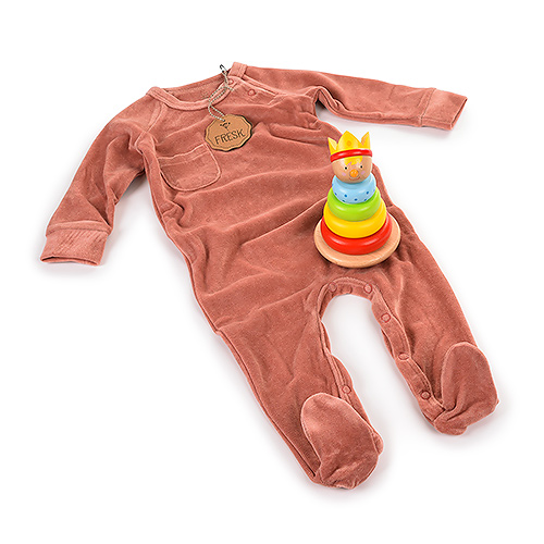 Gifts 2020 : Fresk Pajamas Rose & Wooden Toy Tower Prince