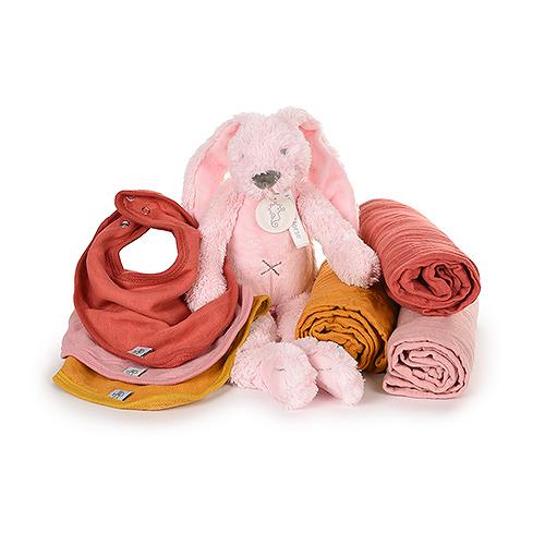 Lässig Set Blanket Large, Bandana & Happy Horse Cuddle Baby Girl