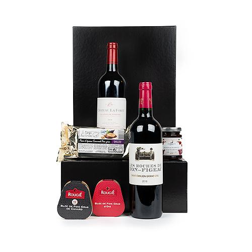 Exclusive  Pomerol & Saint-Emilion Grand Cru Wine Gift