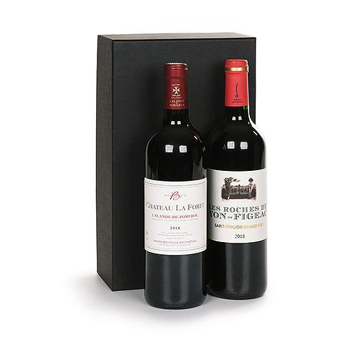 Duo Pomerol & Saint Emilion Grand Cru Wine