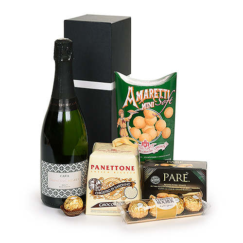 Gifts 2020 : Cava & Panettone Gift