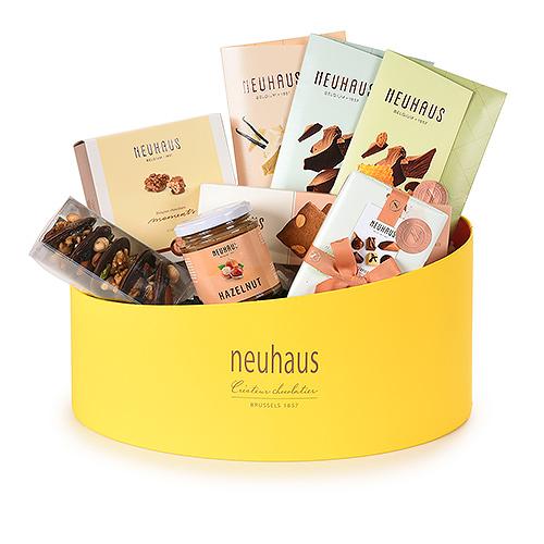 Neuhaus Springtime Belgian Chocolate Oval Hamper