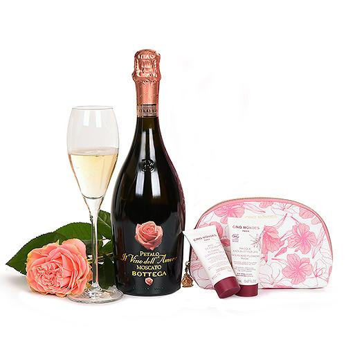 Bottega Moscato Il Vino dell'Amore , Cinq Mondes & Rose