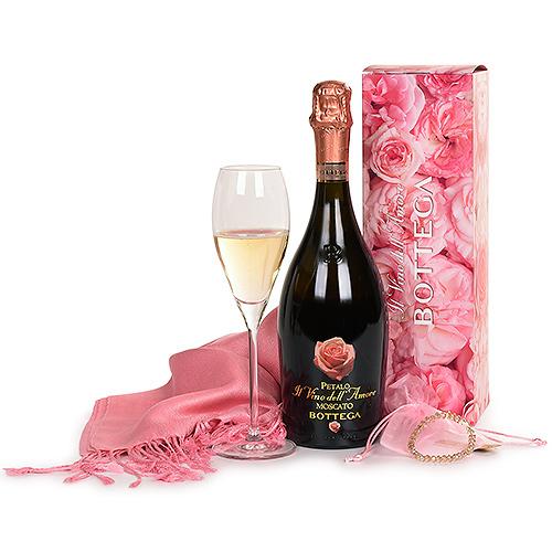 Bottega Moscato Il Vino dell'Amore, Scarf & Bracelet