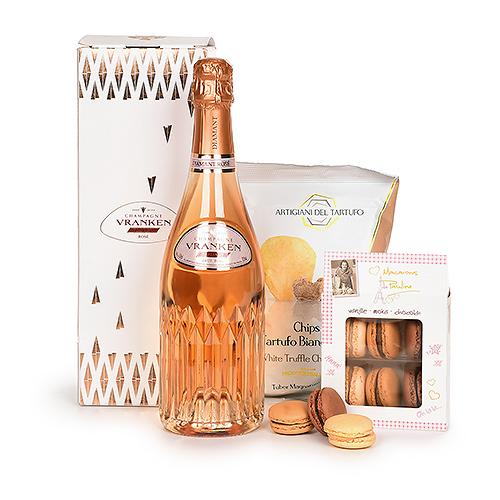 Vranken Diamant Champagne Rosé & Snacks