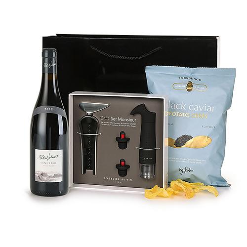Sancerre Wine Connoisseur & Caviar Chips Gift Set