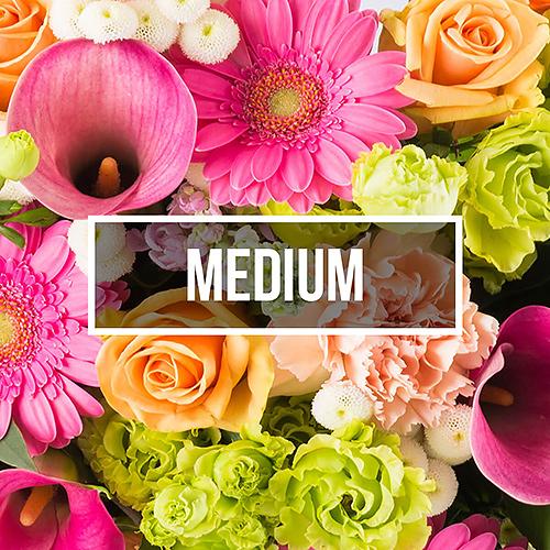 Fleurs livraison mensuelle medium