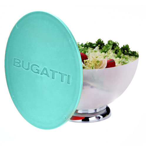 BUGATTI Primavera Salad Bowl and Lid / Cutting Board Green