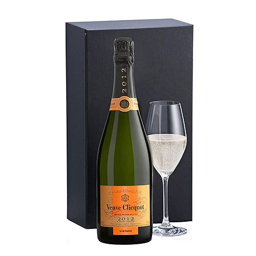 Champagne Veuve Clicquot Vintage & 1 Verre