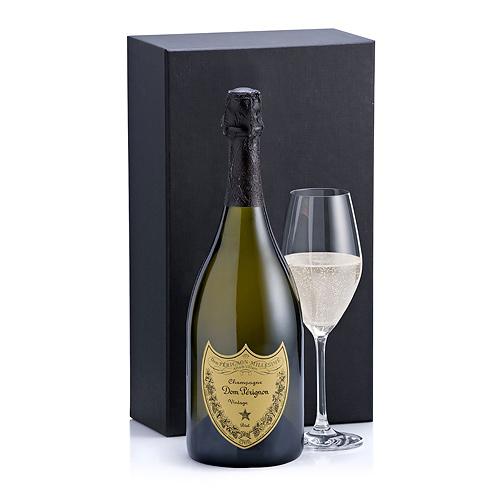 Champagne Dom Pérignon & 1 Glass