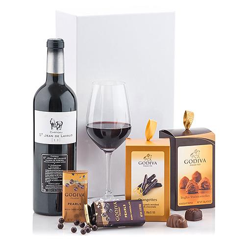 Godiva Chocolats & Château St Jean de Lavaud