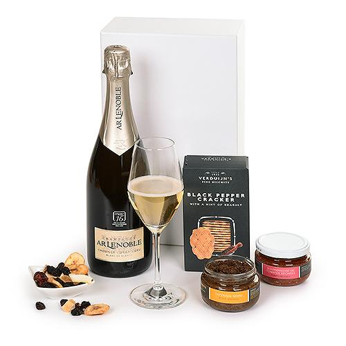 Champagne Lenoble Grand Cru & Snacks