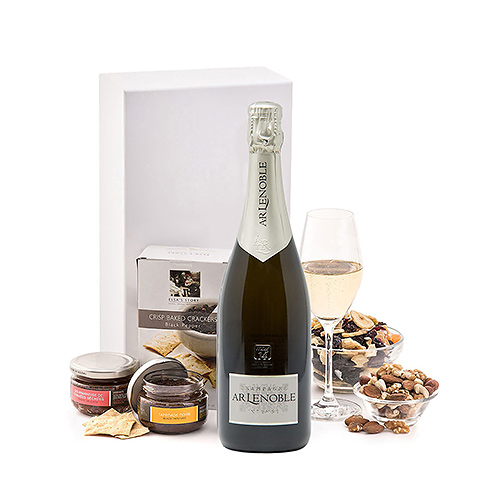 Lenoble Brut Champagne & Snacks