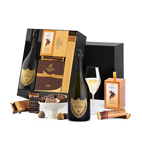 Chocolats Godiva de Luxe & Dom Pérignon