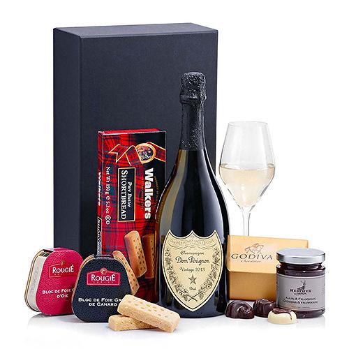 Dom Pérignon, Foie Gras & Godiva
