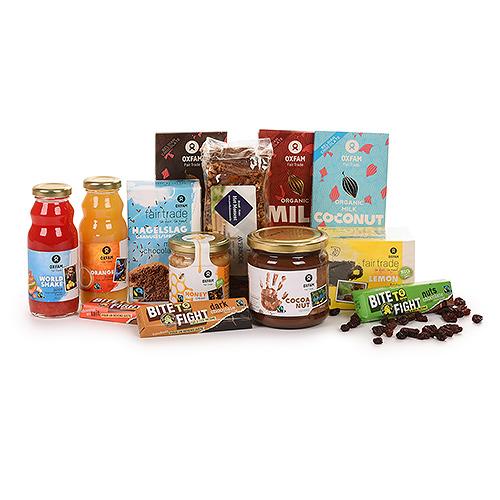 Oxfam Fair Trade Petit-déjeuner en famille