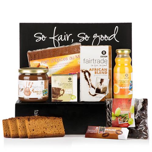 Oxfam Fair Trade Coffret cadeau Petit-déjeuner pour 2