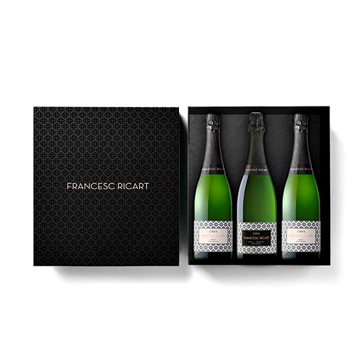 Boîte Cadeau Cava Francesc Ricart Brut