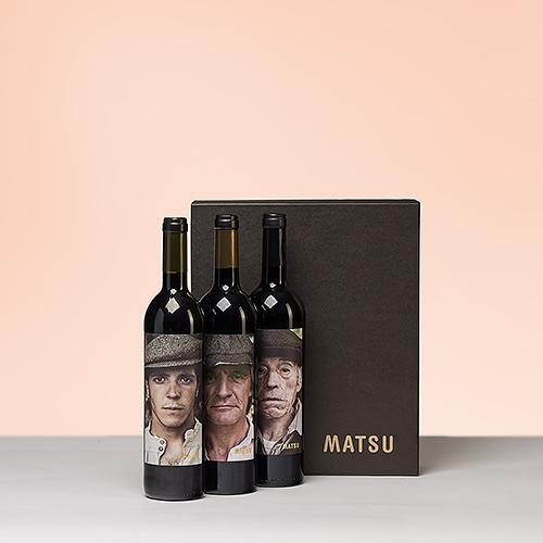 Boîte Cadeau Trio de Vins Rouges Matsu