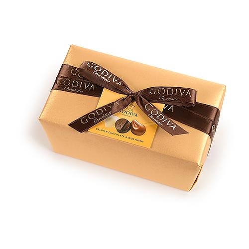 Godiva Gold Wrapped Ballotin, 500 g