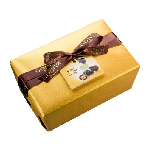 Godiva Gold Wrapped Ballotin 1 kg