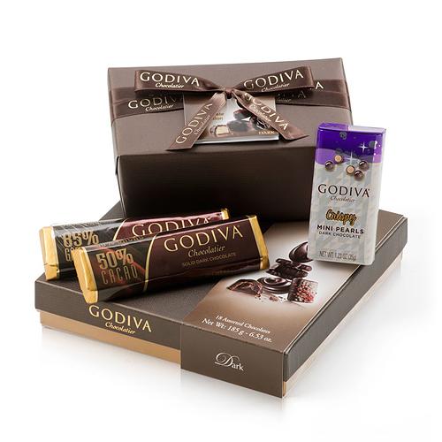Godiva All Dark Chocolate Deluxe