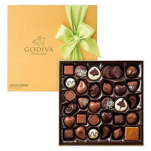 Godiva Boîte Gold de Pâques, 34 pcs