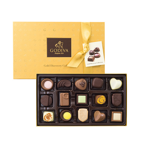 Godiva Gold Discovery Box, 15pcs