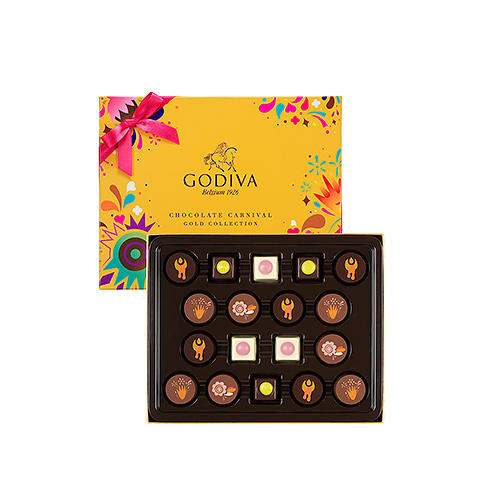 Godiva Carnival Gold Collection, 18 pcs