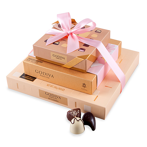 Godiva Chocolate Tower Spring