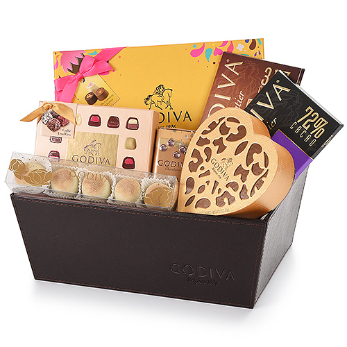 Godiva Carnival Leather Gift Hamper