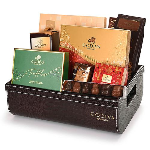 Godiva VIP Christmas Chocolate Gift Hamper