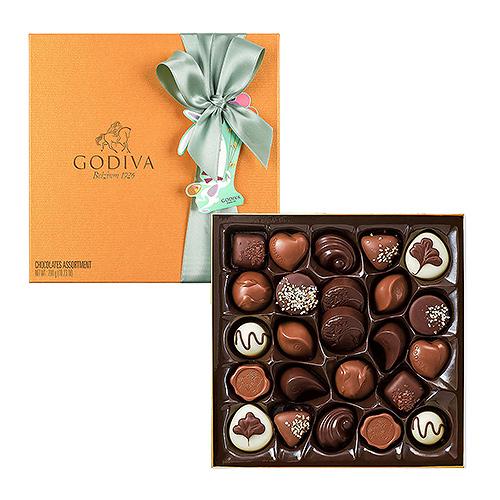 Godiva Boîte Gold Décorée de Pâques, 24 pcs