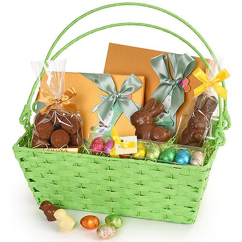 Panier cadeau de Pâques Godiva