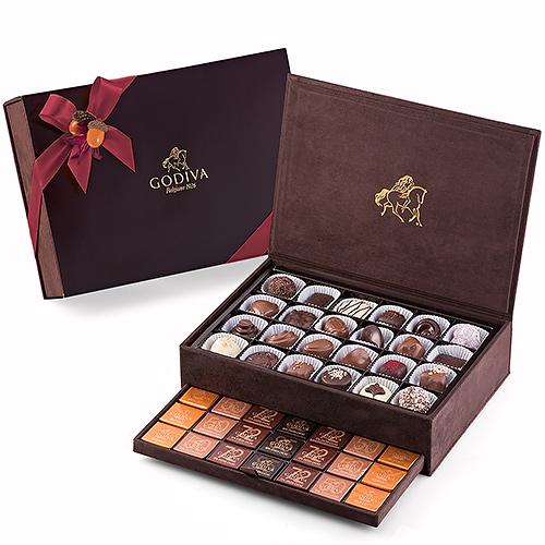 Godiva Fall Royal Gift Box Large, 94 pcs