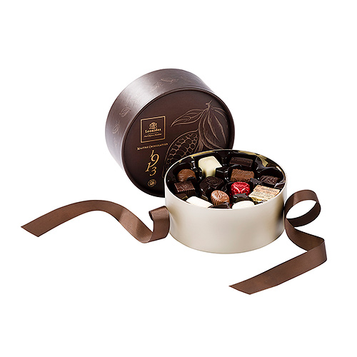 Leonidas Round Brown Dora Giftbox with Chocolates, 24 pcs