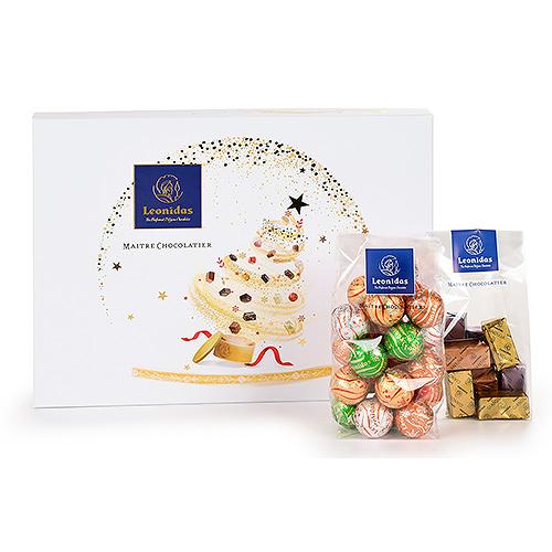 Leonidas Christmas 2020 - White Christmas Gift Set