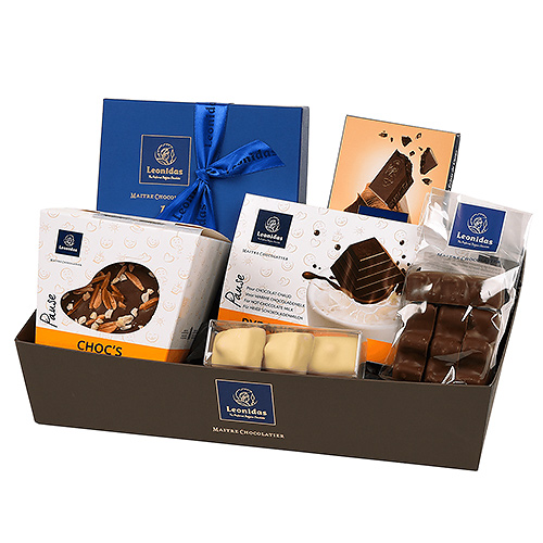 Leonidas Your Perfect Pause Gift Basket