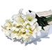 Flower Box White Lilies 12 pcs [01]