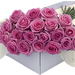 Flower Box Pink Roses 30 pcs [01]
