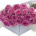 Flower Box Pink Roses 40 pcs [01]