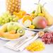 Paniers Fruits Exotiques & Coeur Saint-Valentin Neuhaus [03]