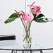 Pink Tropical Bouquet in Plexi Vase [02]