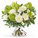 Think Pink Bouquet Blanc - Medium (30 cm) [01]