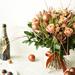 Bouquet de Noël Bronze Luxe - 40 cm [02]