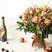 Bouquet de Noël Bronze Prestige - 45 cm [02]