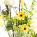 Bouquet Jaune Branché dans une Vase [02]
