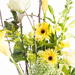Stylish Yellow Bouquet In Vase [02]